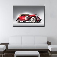 Vintage Retro Car Wall Art Poster Canvas Print Wall Picture For Home Decor(China)