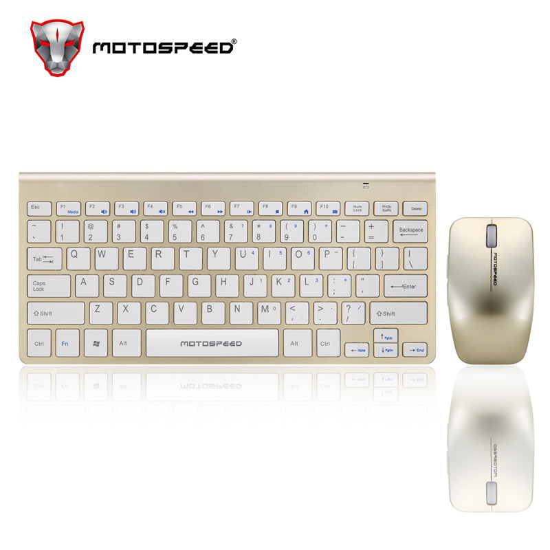 Image 3 - Motospeed G9800 2.4GWireless Keyboard and Mouse Multimedia Keyboard Mouse Combo Set For Notebook Laptop Mac Desktop PC TV Office-in Keyboards from Computer & Office