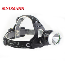 3-Modes 2000 Lumen Bike Lamp CREE XM-L T6 K11 LED Headlamp Bicycle Head XML Lights + 2* 18650 Battery + Charger+Car Charger