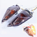Smoke Rear Turn Light Signal For Suzuki GSXR1000 2009 - 2011 GSXR 600 750 11 12 K9 K11 With Bulbs