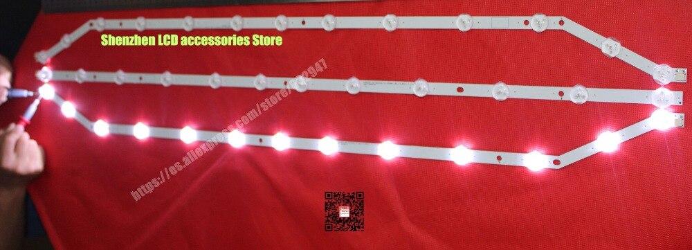 6Pieces lot 76CM LCD backlight 12lights 13lights For Samsung 40 TV UN40H5003 D3GE 400SMA R2 2013SVS40