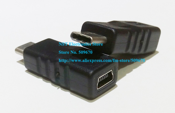 USB C USB 3 1 Type C Male Connector to MINI USB 2 0 5Pin Female