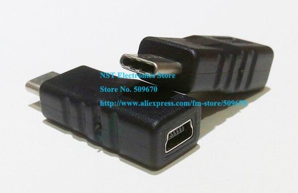 USB C USB 3.1 Typ C Stecker auf MINI USB 2.0 5Pin Weibliche Data Adapter Für Tablet & Handy/Freier DHL/100 STÜCKE-in Steckverbinder aus Licht & Beleuchtung bei AliExpress - 11.11_Doppel-11Tag der Singles 1