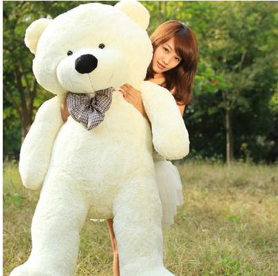 hot sale jumbo teddy bear cuddly toy large hold pillow doll embrace bear doll plush bear doll. Black Bedroom Furniture Sets. Home Design Ideas