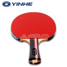 Yinhe Galaxy 7 звезд Национальный Настольный теннис ракетка прыщи-в резиновой ракетки для пинг понга