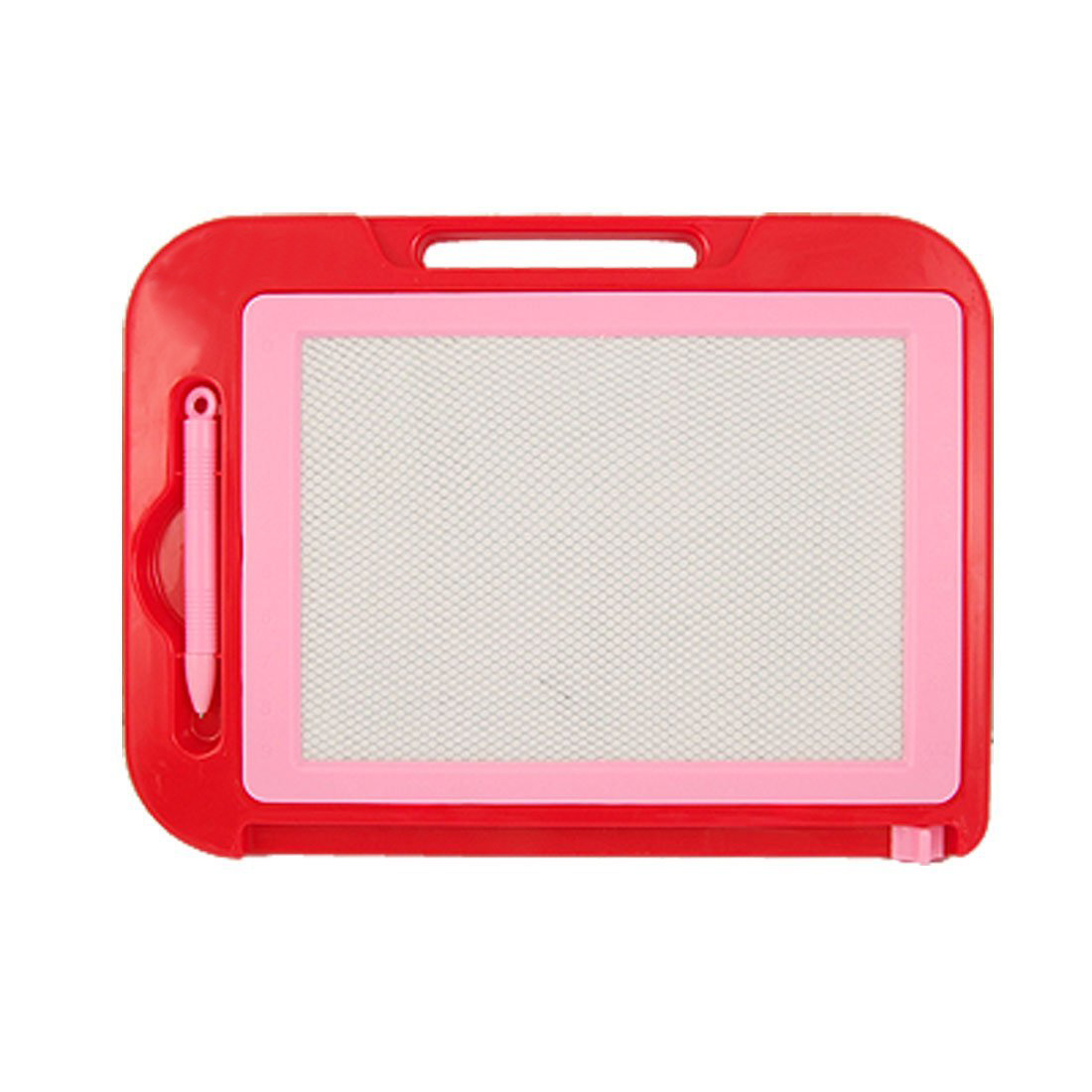 New And Hot Red Pink Plastic Frame Magnetic Writing Drawing Board