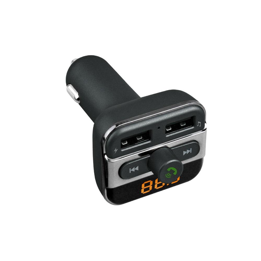 Универсальный 2 Порты USB Зарядное устройство Bluetooth fm-передатчик плеера Путешествия стены Зарядное устройство адаптер для Mp3 и мобильных устр…