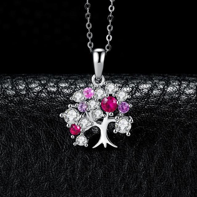 Tree of Life Ruby Pendant