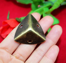 25MM side corners trilateral antique wooden decorative gift wrap angle iron purses wooden four corners code CP205