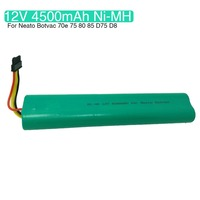 NI MH 12V 4500mAh Replacement battery for Neato Botvac 70e 75 80 85 D75 caSino187 Vacuum Cleaner Replaces 945 0129