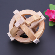 Kongming Lock Wooden 3D Puzzle