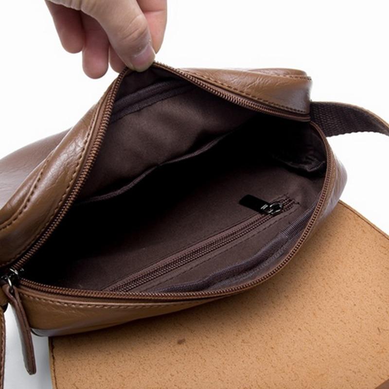 cdf2cdbf63 Men s Shoulder Bags TOP Quality Casual Men Messenger Bag Pretty Style  Bolsas Travel Fashion Small Sacoche Homme Satchel on Aliexpress.com