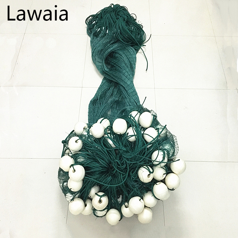 Lawaia Fishing Nets Pull,Pull net Farms, Railing Anti bird Netting,Fish Ponds Dragnet 15m Long 1m High Casting Nets,