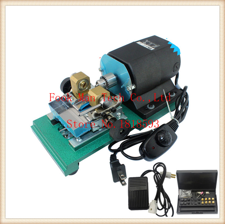 лучшая цена Promotion!!! 240W HIGH POWER Pearl Drilling Holing Machine Pearl Driller Drilling Machine