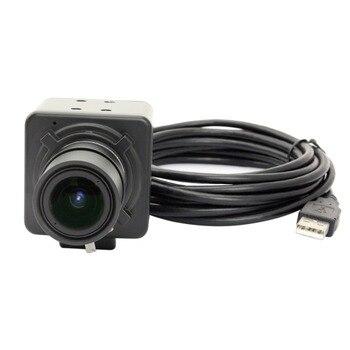 Mini VGA 480P MJPEG 30fps CMOS OV7725 UVC USB Webcam Camera with 5-50mm Manual Varifocal lens for QR code Scanning
