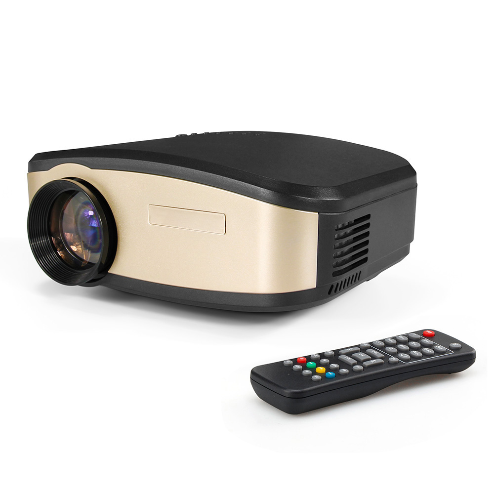 Mini 1080p Full Hd Led Projector Home Theater Cinema 3d: Portable Mini Projectors 800x480 1080P Full HD 2000 Lumens