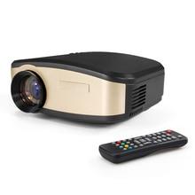 Portable Mini Projectors 800×480 1080P Full HD 3000 lumens Projector Home Cinema Theater with HDMI/USB/VGA/AV LCD LED Projector
