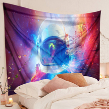 Astronaut tapestry Galaxy Hanging Wall Tapestry Hippie Retro Yoga Beach Mat macrame wall hanging Polyester Fabric Wall Decor beach style polyester fabric wall hanging tapestry