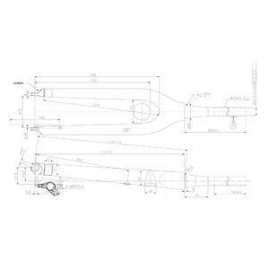 """Neue 27,5 """"zoll mountainbike gabel UD vollcarbon hardtail scheibenbremse gabel MTB 650B mit 100*15mm achse"""