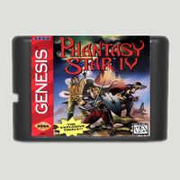Phantasie Star IV 16 bit MD Spiel Karte Für Sega Mega Drive Für Genesis