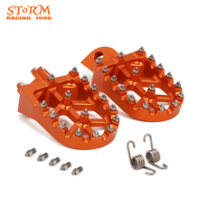 цена на Foot Pegs FootRest Footpegs Rests Pedals For KTM SX SXF EXC EXCF XC XCF XCW XCFW 65 85 125 150 200 250 300 350 -1290 ADVENTURE