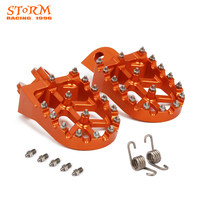 Foot Pegs FootRest Footpegs Rests Pedals For KTM SX SXF EXC EXCF XC XCF XCW XCFW 65 85 125 150 200 250 300 350 1290 ADVENTURE