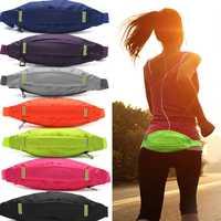 Unisex Sports Running Cycling Jogging Earphone Waist Belt Pack Bag Pouch Pocket