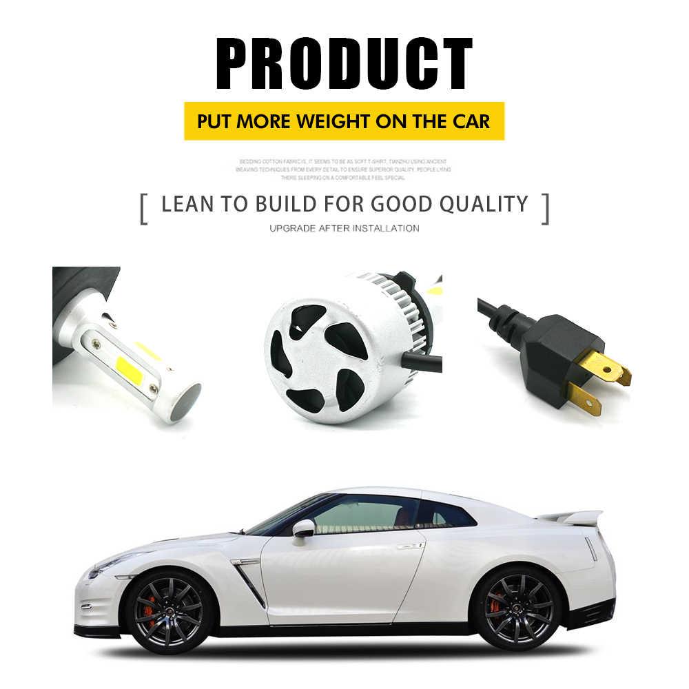JGAUT Shipping by DHL EMS Fedex Wholesale 30 Pairs S2 H7 Led H4 Car Headlights Light Bulbs H1 H3 H9 H11 9005 9006 Automobiles