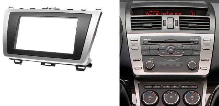 double din cd dvd stereo panel for mazda 6 atenza 2008. Black Bedroom Furniture Sets. Home Design Ideas