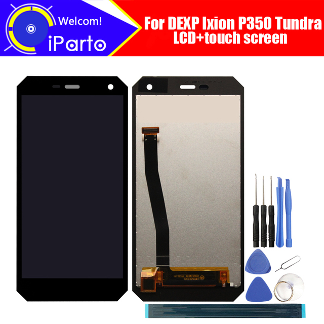 Dexp Ixion P350 Tundra Lcd scherm + Touch Screen Vergadering 100% Origineel Getest Digitizer Glass Panel Vervanging Voor P350