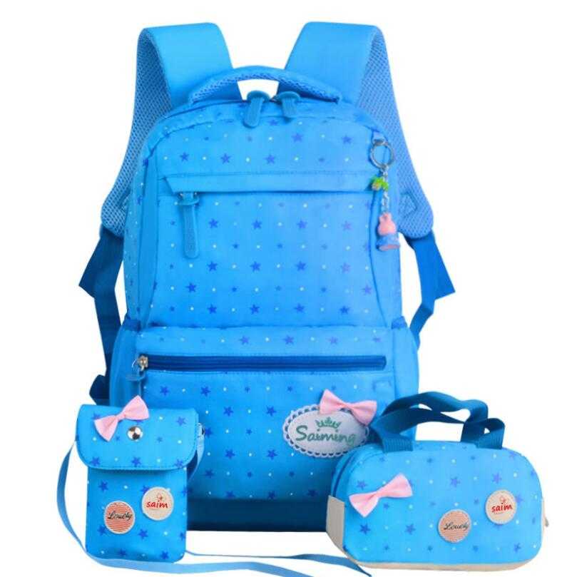 Children Backpacks School Backpack Star Printing School Bags For Teenager School Bag For Grils Mochila Escolar Schoolbag