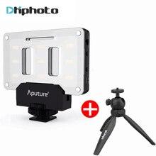 Aputure Pocket LED Fill Lighting on Camera with tripod,Bracket Kit AL-M9 Amaran CRI 95 camera Video Light for Nikon Canon DSLR