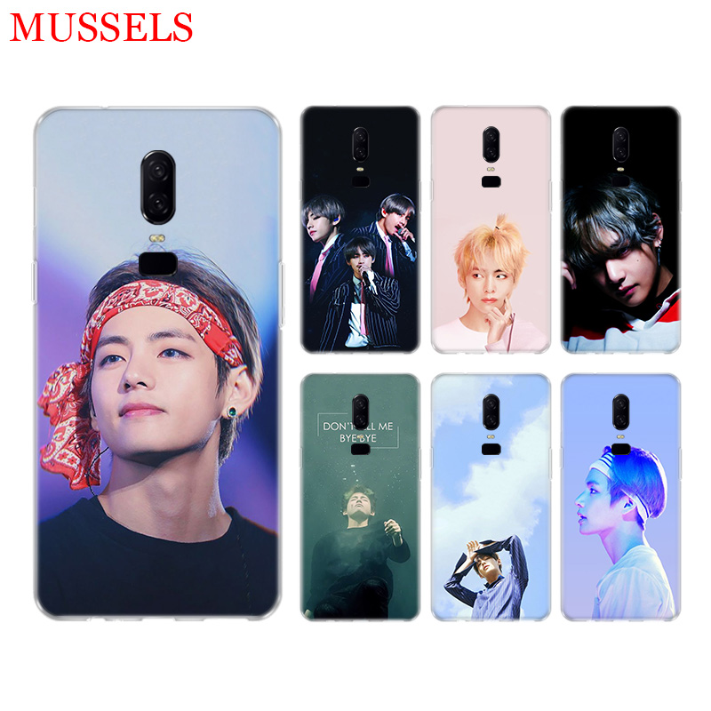 Kim V Taehyung Exotic Phone Back Case for font b OnePlus b font font b 7