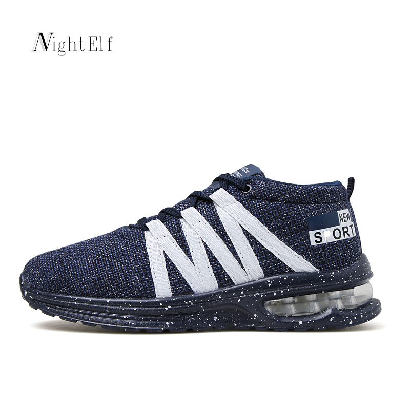 Night Elf men running shoes breathable sneakers high quality air mesh men trainers new winter sport shoes men 2016 hot 39~45