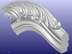 Мебель стол шкаф стул диван кровать ногу 3D модель STL файл формата ArtCAM 316