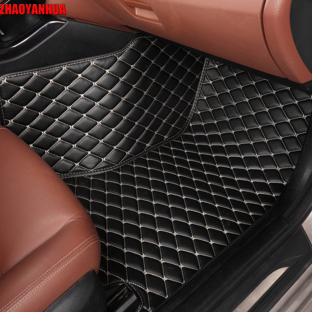 ZHAOYANHUA Car floor mats for Mitsubishi Galant ASX Pajero sport V73 V93 5D car styling all weather carpet floor liner