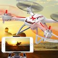 Profesional grande RC Helicóptero SYMA X54HW 2.4G 4CH WIFI Antena FPC RC Drone Con Cámara HD FPV Tiempo Real RC Quadcopter VS H26W