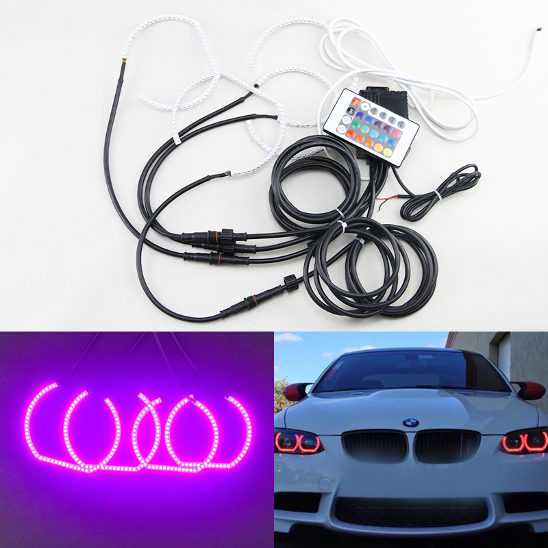 DTM Style Horseshoe RGB Color-Changing Multi-Color Led Angel Eyes Halo Rings Kit For Bmw Headlights F30 F31 F34 napura шампунь purify 200 мл