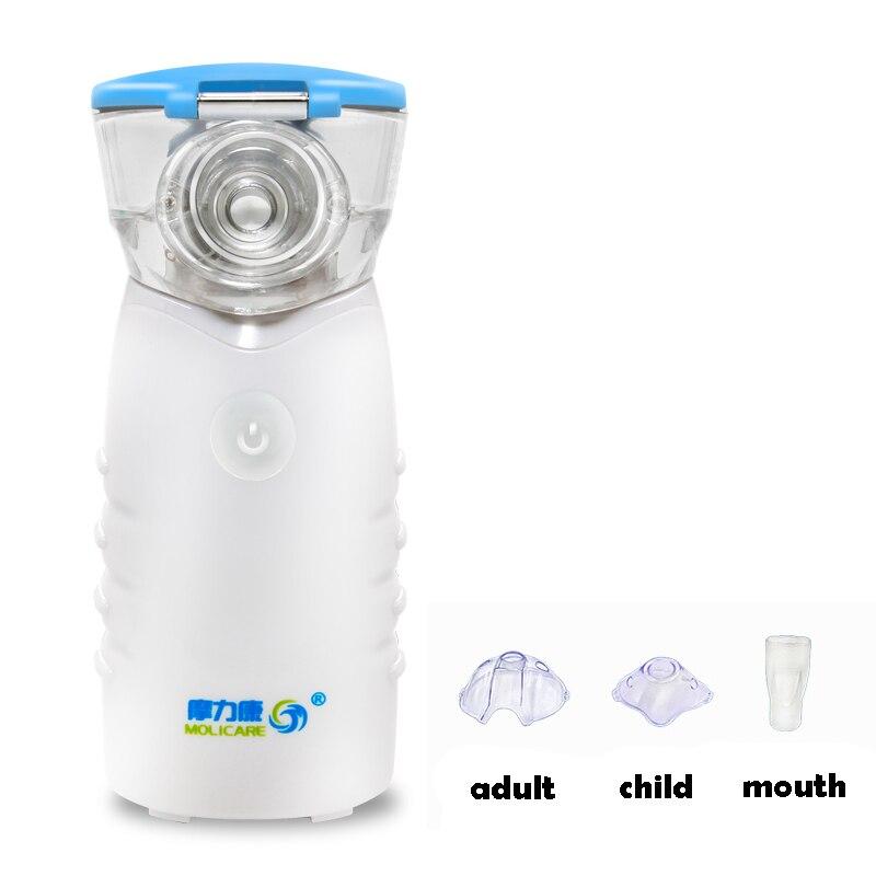Mesh Nebulizer Asthma Inhaler Medical Mini Handheld Automizer Children Adult Care Home Ultrasonic Nebulizer ultrasonic portable medical nebulizer home use health care mini automizer treatment of children and adult atomizing inhaler