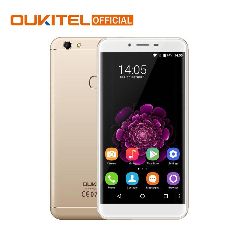 Цена за Oukitel U15S 5.5 Дюймов FHD 4 ГБ RAM 32 ГБ MT6750T ROM Смартфон Окта основные Android 6.0 Сотовый Телефон Отпечатков Пальцев мобильный Телефон