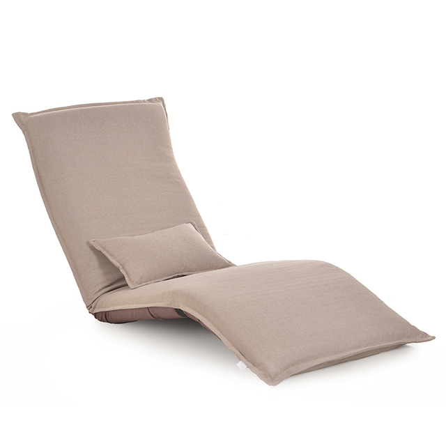 Modern Floor Foldable Chaise Lounge Chair Reclining Adjustable
