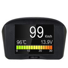 Diagnostic Tool X50 PLUS Car Hud Head up Display Auto OBD 2 II Digital Voltage Tachometer Speed Alarm TPMS Speedometer