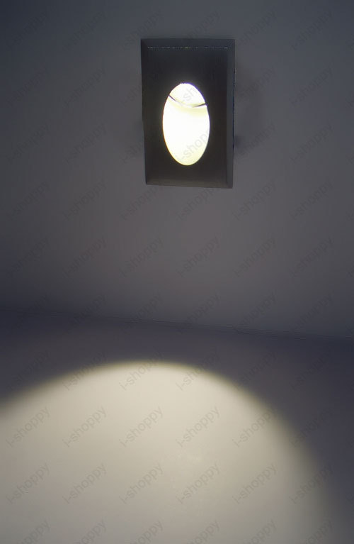 3w 1 Led Wall Stair Recessed Light Modern Decoration