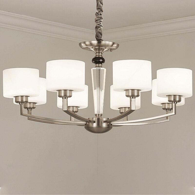 LED Modern Chandelier Lighting Living Room Bedroom Luxury Indoor Lighting Fixture Home Decoration Design Iron Creative Art Large