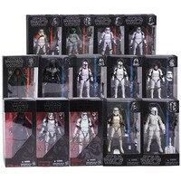Star Wars The Black Series Kylo Ren Stormtrooper Phasma Darth Maul Darth Vader Hab Solo PVC