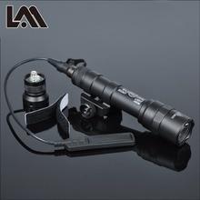 400 люмен Тактический SF M600B Скаут свет Lanterna страйкбол фонарик охотничий Keymod рейка оружие Свет пистолет свет