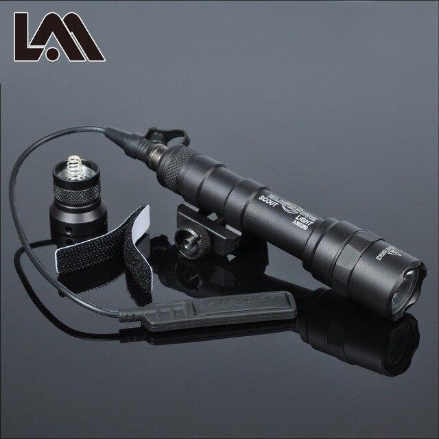 Tactical SF M600 M600B Weapon Gun light Lanterna Airsoft Rifle arma Flashlight Pistol Scout Light Torch  Hunting Pictinny Rail 1