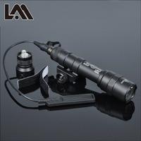 400 lumens tático sf m600b scout luz lanterna airsoft caça keymod ferroviário montar arma de luz pistola luz|Luzes de armas| |  -