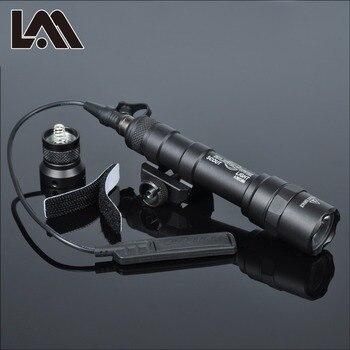 Pistola táctica SF M600 M600B, luz para arma, linterna para Rifle Airsoft, arma de caza, Pictinny Rail