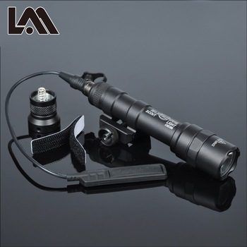Tactische SF M600 M600B zaklamp voor wapen airsoft rifle pistool zaklamp jacht licht compatibel met Picatinny rail